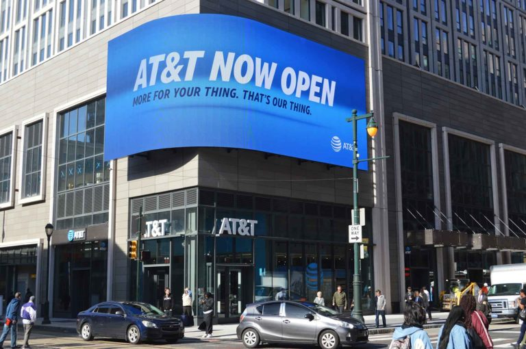 store exterior of at&t market st store